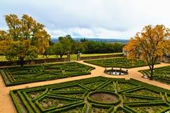 El Escorial Gardens, Spain Royalty Free Stock Photo