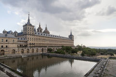EL Escorial, Madri, Espanha fotografia de stock
