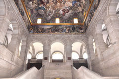 El Escorial Madrid Royaltyfri Bild