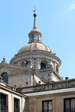 El escorial, madrid, the dome Stock Image