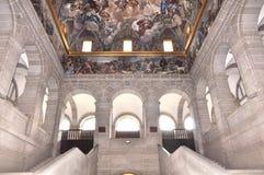 El Escorial Madrid. The fresco inside the Escorial in Madrid, Spain Royalty Free Stock Image