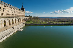 El Escorial, Madrid, Spain. Royalty Free Stock Photography