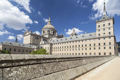 El Escorial, Madrid, Spanien Royaltyfri Bild