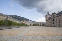 El Escorial, Madrid, Spanien royaltyfri fotografi