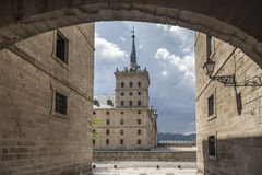 El Escorial, Madrid, Spanien Royaltyfria Foton