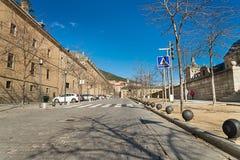 El Escorial, Madryt, Hiszpania Zdjęcia Royalty Free