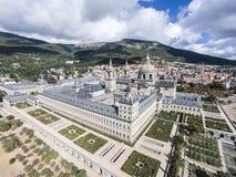 El Escorial monaster, Hiszpania fotografia stock
