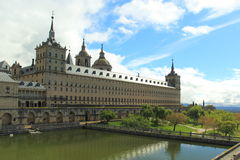El Escorial monastery Royalty Free Stock Photos