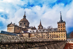 El Escorial Monastery back Royalty Free Stock Photography