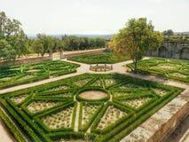 El Escorial monastery garden Royalty Free Stock Images
