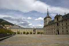 El Escorial Monastery,Madrid Stock Image