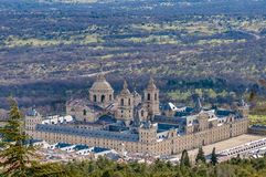 El Escorial monastery near Madrid, Spain. Stock Images