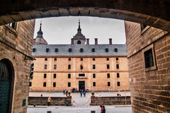 El Escorial Monastery side Royalty Free Stock Photography