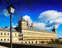 El Escorial. View of Royal Palace Royalty Free Stock Photography