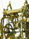 El escpement del reloj esquelético antiguo imágenes de archivo libres de regalías