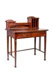 El escritorio de escritura de la antigüedad, vector, aisló Foto de archivo libre de regalías