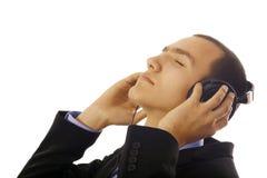 El escuchar con la pasión Fotografía de archivo