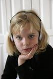 El escuchar Music2 Fotos de archivo libres de regalías