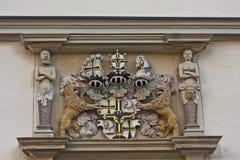 El escudo de armas de George Hund von Wenkheim Fotografía de archivo