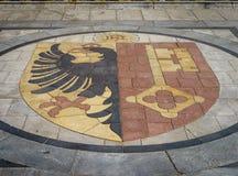 El escudo de armas de Ginebra Fotografía de archivo libre de regalías