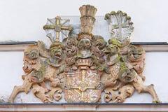 El escudo de armas de la orden teutónica fotografía de archivo libre de regalías
