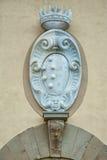 El escudo de armas del Medici Foto de archivo libre de regalías