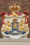 El escudo de armas holandés - Je Maintiendrai Fotos de archivo libres de regalías