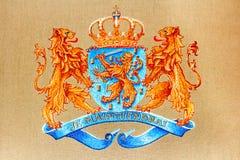 El escudo de armas holandés Fotos de archivo libres de regalías