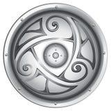 El escudo de un vikingo Imagen de archivo libre de regalías