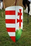 El escudo del caballero Foto de archivo libre de regalías