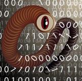 El espía del gusano Fotos de archivo libres de regalías