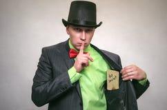 El espía Servicio secreto Agente de Detecive Foto de archivo