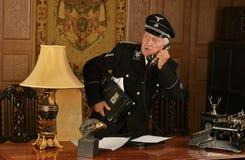 El espía alemán roba Imagenes de archivo