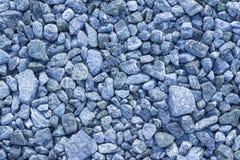 El espacio abstracto de la copia del fondo de la textura machacó recientemente la piedra machacada azul imagen de archivo