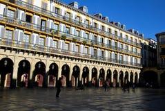 El espacio de la constitución de San Sebastian Foto de archivo libre de regalías