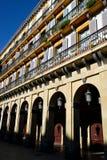 El espacio de la constitución en San Sebastian Foto de archivo libre de regalías