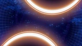 El espacio protagoniza ciencia de la astronomía del cielo ilustración del vector
