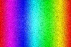 El espectro de color barra el fondo Ilustración del Vector