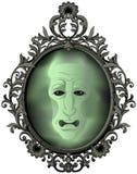 El espejo mágico stock de ilustración