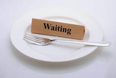 El esperar Fotografía de archivo
