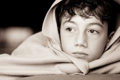El esperar del niño Foto de archivo libre de regalías