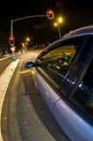 El esperar en los semáforos Fotografía de archivo