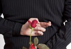 El esperar un romance Fotos de archivo