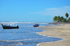 EL Espino, El Salvador di Playa Immagine Stock Libera da Diritti