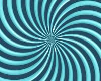 El espiral óptico del arte curva el triángulo 07 stock de ilustración