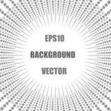 el espiral gris abstracto puntea el fondo ilustración del vector