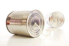 El estaño o puede llamar por teléfono fotos de archivo