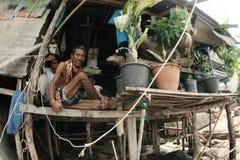 El establecimiento de pescadores en Tailandia Fotos de archivo libres de regalías
