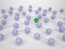 El establecimiento de una red es II importante Foto de archivo libre de regalías