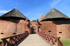 El establecimiento en la ciudad de Miedzyrzecz - Polonia. Fotografía de archivo libre de regalías